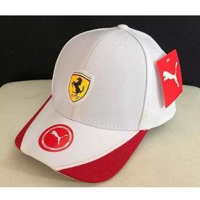 Boné Ferrari Ajustável Fita - Original Importado Fotos Reais edeb0857ef2