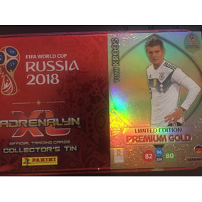 Cards Copa 2018 Adrenalyn Limited Edition Gold Toni Kroos