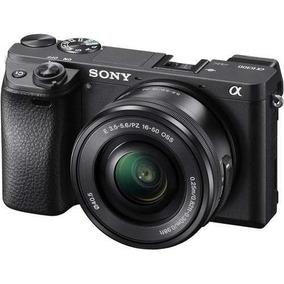 Câmera Sony Mirrorless Alpha A6300 + 16-50mm Garantia Sjuros