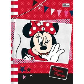 0e6af7f8ec Caderno Brochura Minnie Top 96 Folhas - Tilibra - Vermelho