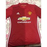 Camisa Manchester United 2017 Original adidas #6 Pogba