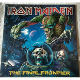 Lp Iron Maiden Final Frontier 180g Duplo Importado Lacrado