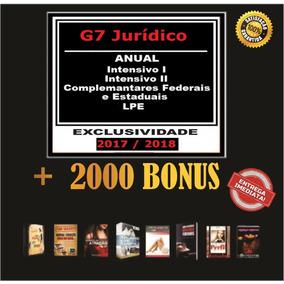 Curso Intensivo Para Carreira Juridica I E Ii G7 + Brinde
