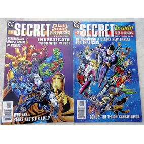 Secret Files & Origins Nº 1 E 2: Dcu Heroes & Legion Heroes