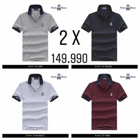 e90cb95b2efbc 2 Camisetas Polo Azul Y Negra Con Rojo Masculina Tipo - Ropa y ...