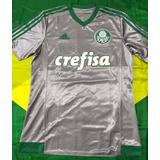 Camisa Oficial adidas Palmeiras Crefisa 2015 M Taça Savoia