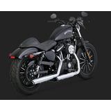 fe62a36c618 Ponteira Vance hines Twin Slash 16861sportster Harley 883 xl