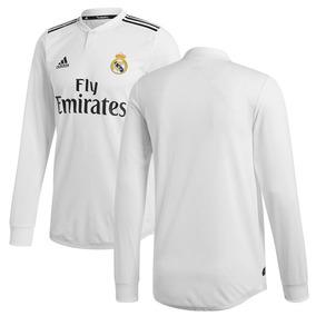 Real Madrid Jersey Manga Larga Blanca 2019 adidas Modric bd8657111a84f