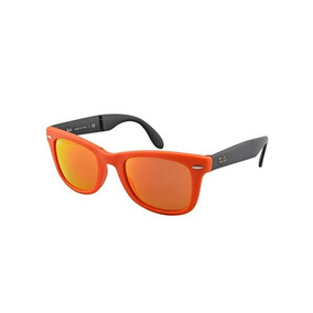 69a4cd3428412 Naranjo Flash Lentes De Sol Ray Ban Wayfarer Folding Rojo - Lentes ...