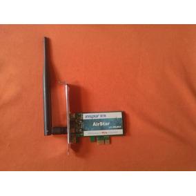 Tarjeta De Red Inalambrica Pci Express Con Antena 6dbi 2,4gh