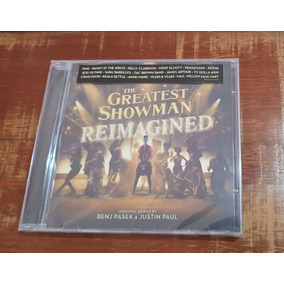Cd The Greatest Showman - Reimagined 2018 Tiragem Limitada