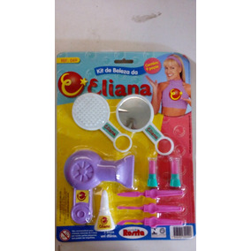 Brinquedo Antigo Kit De Beleza Da Eliana