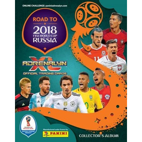 Lote 196 Cards Road To Russia World Cup 2018 Adrenalyn Xl