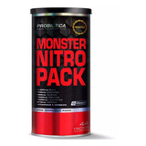 Monster Nitro Pack - 44 Packs Probiótica - Com Nota Fiscal