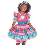 Vestido Festa Junina Suriel Infantil 60036