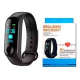 Pulseira Relógio Inteligente Smartband M3 Bluetooth