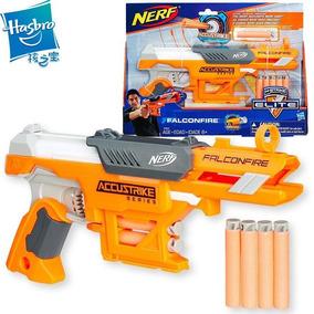 Lançador Lança Dardos Nerf Accustrike Falconfire Hasbro