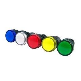 Sinaleira Led 220v Azul, Verde, Amarelo, Branco, Vermelho