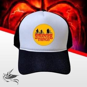 Boné Stranger Things Serie Tumbrl Promoção Trucker Youtube e1b16ed414d