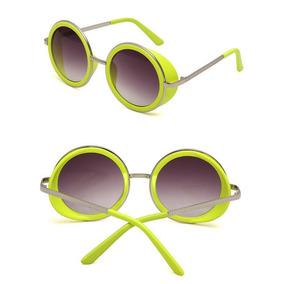 0f906c61cedce Oculos Redondo Amarelo Ozzy - Óculos no Mercado Livre Brasil