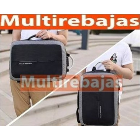 Mochila Antirrobo Puerto Usb Y Auxiliar, Anti Robo