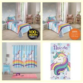 8709a6619 Lepper Edredom Unicornio - Todo para o seu Quarto no Mercado Livre ...