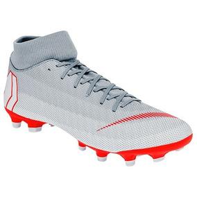17299bfe35532 Tacos y Tenis Césped natural Nike Gris claro de Fútbol en Mercado ...
