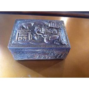Caixa Art Noveau Porta Jóias Japonês Dragão Frete Gratis