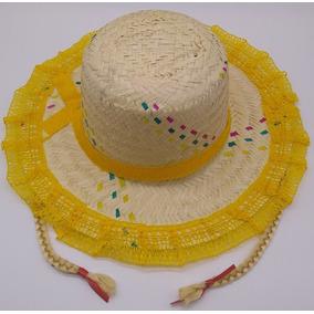 Chapeu Em Palha E Renda - Brinquedos e Hobbies no Mercado Livre Brasil fb51e96f31