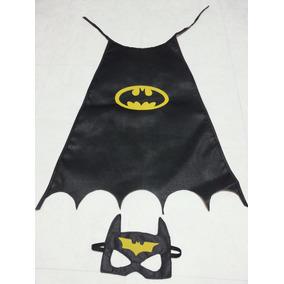 Capa Y Antifaz Batman Y Batichica. (super Heroes)