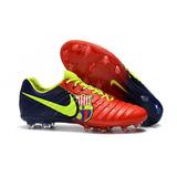 Chuteira Nike Flyknit Tiempo Legend Vii Barcelona Fg - Campo 1d8ad060b7bdf