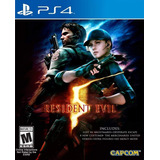 Resident Evil 5 - Ps4 - Digital - Manvicio
