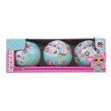 3pcs Pelota Sorpresa Surprise Dolls Ball Envio Gratis Oferta