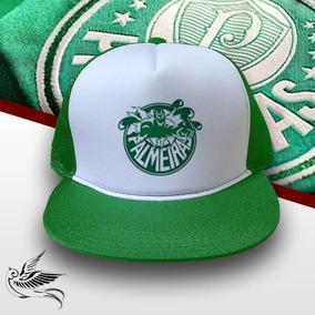 Bone Palmeiras Mancha Verde - Bonés para Masculino no Mercado Livre ... bc4eb17ad39