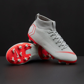 1f33a0b65 Botines Nike Mercurial Botitas Rosa Y Blanco - Botines Gris claro en ...