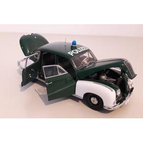 Bmw 501 Police Car 1953 Rep. Federal Alemana Auto Art 1/18