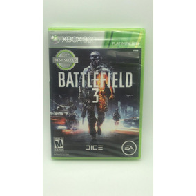 Jogo Battlerfield 3 Platinium Hits Xbox360 M.fisica