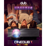 Proyector Cinedub X 4k Wifi Ultra Hd