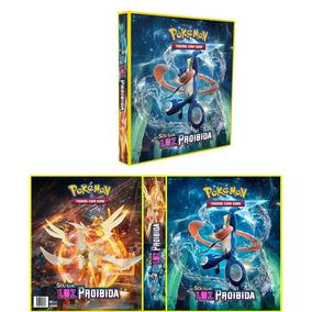 Álbum Pokémon Luz Proibida C/ 10 Folhas Yes
