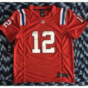 Asombroso Jersey New England Pats Niño Rojo Tom Brady 12 4c5314bd937