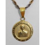 Dije Medalla Oro 18k Jose Gregorio Hernandez 1,6g