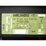 Boletas Lenny Kravitz Tribuna Fan Sur Agotado!! Mercado Pago