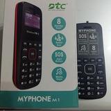 Celular Dtc Myphone M1 Dual Sim Tela 1.3 Rádio Fm Bluetooth
