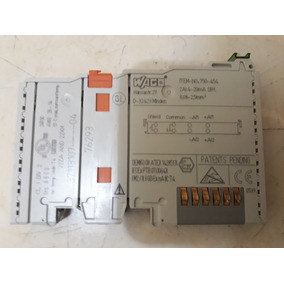 Wago 750-454 Input Module Analog 2pt 4-20ma Plc