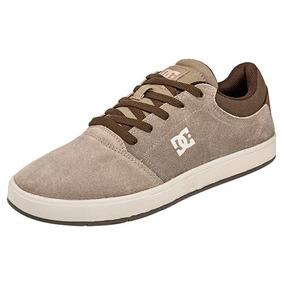 Tenis Casual Dc Shoes Hombres Crisis Skate Beige 80298 Dtt