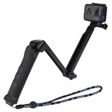 Puluz 3-way Agarre Plegable Multi-funcional Selfie-stick