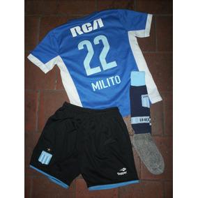 Conjunto Racing Kappa - Camisetas en Mercado Libre Argentina c5c954015caaa