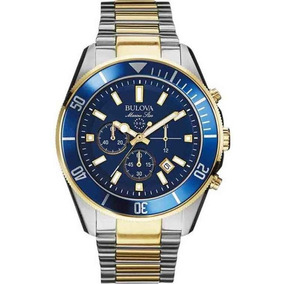 Relógio Masculino Cronógrafo Bulova Marine Star Wb31774f