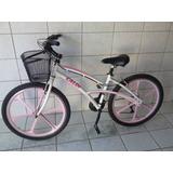 Bicicleta Feminina Caloi 100 Exclusiva.