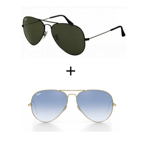 ecf0b92355307 Oculos Rayban Espelhado Azul Masculino - Óculos no Mercado Livre Brasil